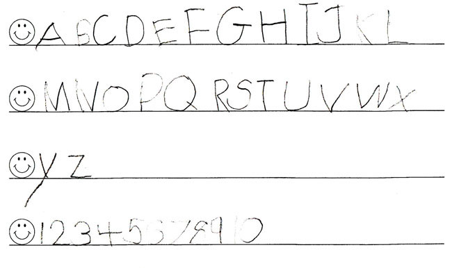 Kids Handwriting Before And After Handwriting Without Tears